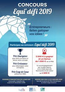 Concours innovation Equi'défi