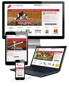 Un nouveau site internet pour Equi-ressources