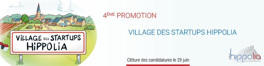 4ème promotion du Village des startups Hippolia
