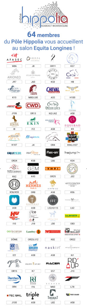 64 membres du Pôle Hippolia à Equita Longines 2018