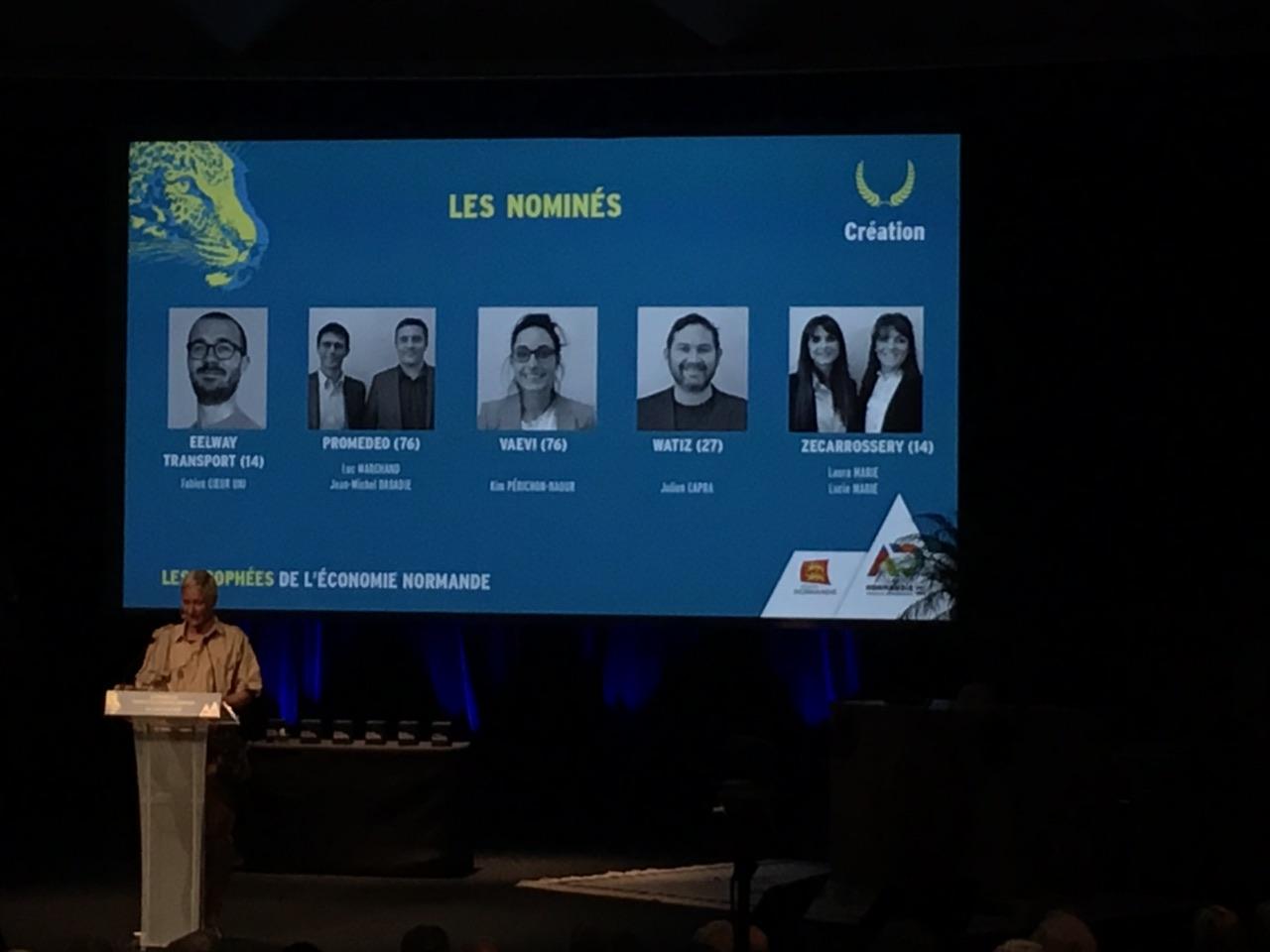 VAEVI aux Trophées de l'Economie Normande