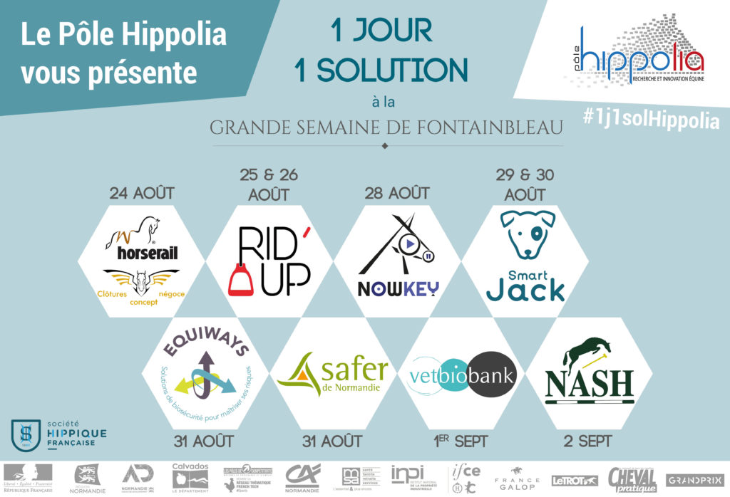1 jour, 1 solution Hippolia - Grande Semaine de Fontainebleau