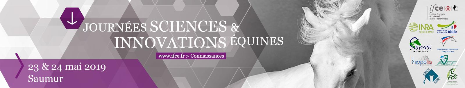 Journées Sciences et Innovations Equines